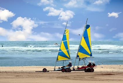[week-end breton] Le char à voile : mon étonnante expérience en tant que passager du vent